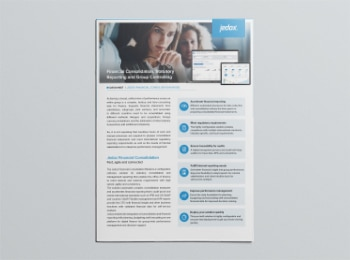Datasheet Financial Consolidation Preview Image 350x260