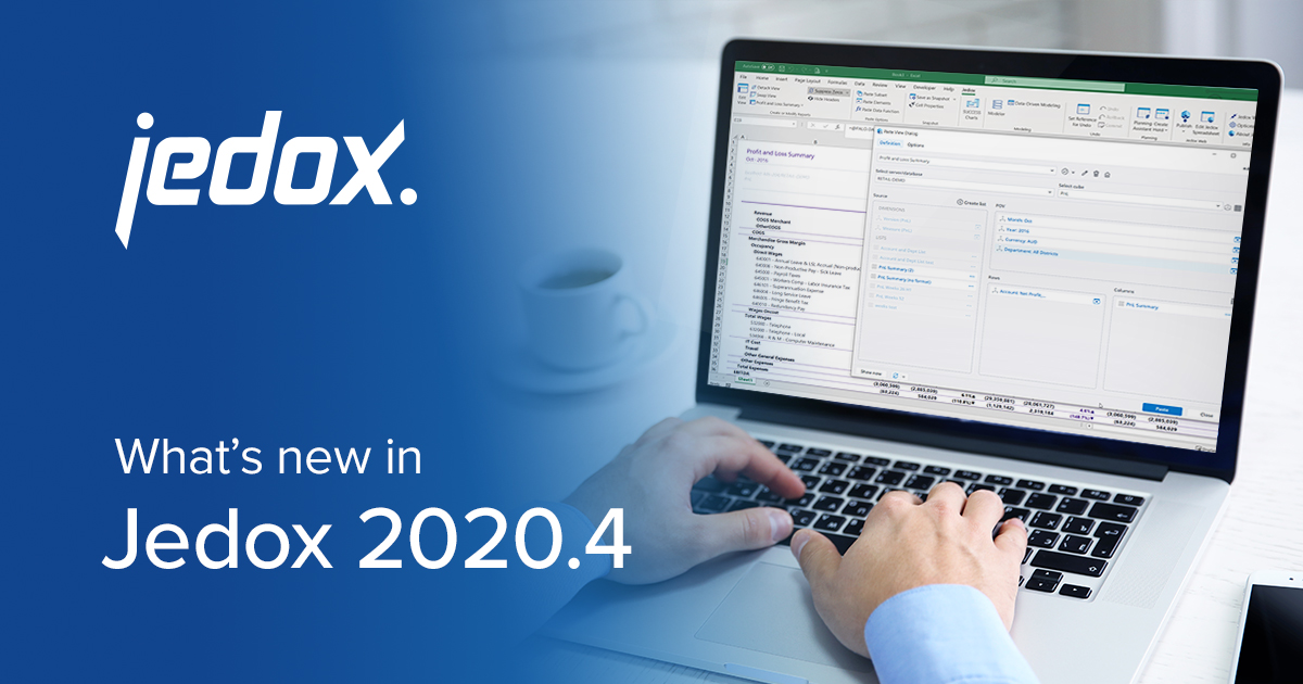 Jedox Release 2020.4 Blog Header